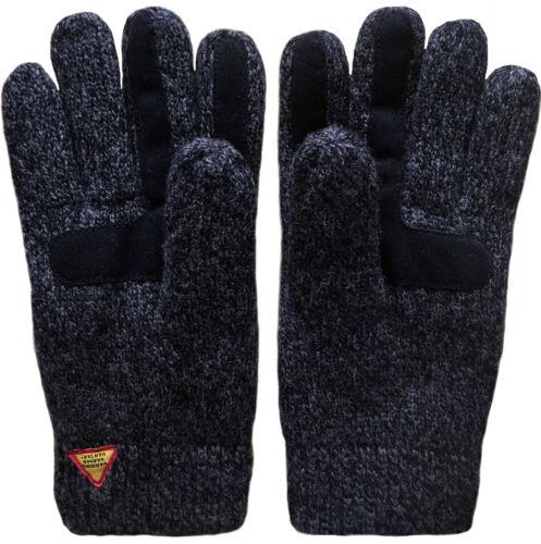 OJBRO 100/% Merino Wool SUEDE TOUCH SCREEN KARG RORO GLOVES-Rayaud/'s Warm NEW