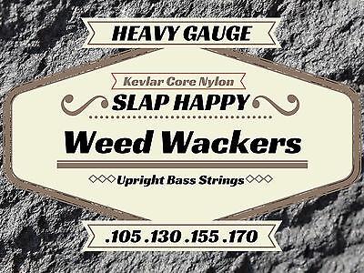 new heavy gauge upright double bass weedwacker strings ebay. Black Bedroom Furniture Sets. Home Design Ideas