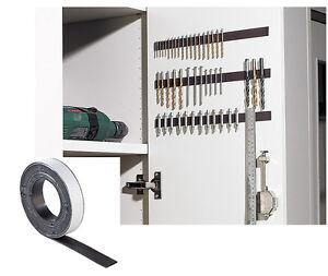 5 1m 3m Magnetklebeband Magnet Klebeband Ablösbar Ordnungssystem