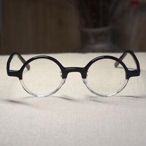 Retro Vintage John Lennon Eyeglasses Mens Blackcrystal Hippie Round Rx Glasses 738598384294 Ebay