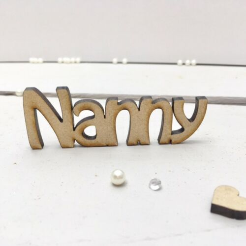 Wooden Wedding LASER CUT NAMES Table Setting Favours Place Name Place Setting