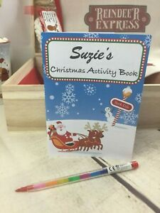 Christmas Eve Box Fillers, Activity Pack For Kids, Colouring Book, Xmas Puzzles | eBay