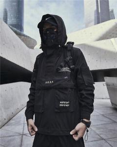 Niepce Combat Windbreaker asiatische Hip Hop Urban Streetwear Jacke