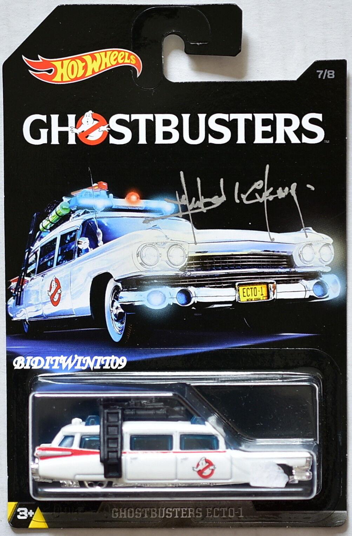 heta hjul Ghostbussters ECTO -1 Firmato da Manson L.Cheung