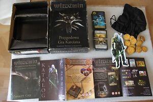 WIEDŹMIN - WITCHER - 2 DECKS CARD GAME !!! EXTREME RARE !!! COLLECTORS STUFF