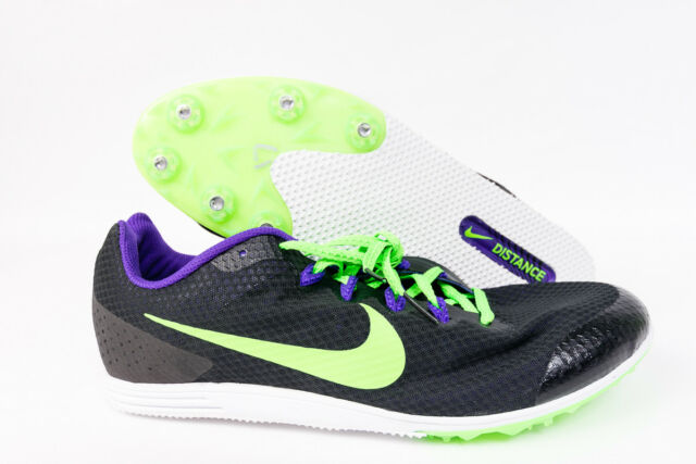 separation shoes 1ec92 6d3d6 Nike Zoom Rival D 9 Distance Track Spikes Mens 806556-035 Size 11.5 New