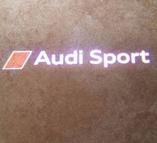 Audi originales deporte LED entrada luces iluminación de entrada puerta logotipo luminarias