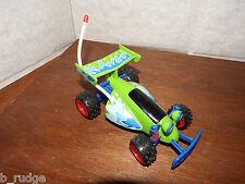 "RARE Disney SOUNDS 6"" Toy Story RC car figure toy pull back and go WONKY AXLE"
