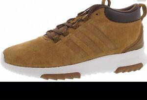 Details zu adidas CF RACER MID WTR CG5695 Herren Sneaker braun Gr. 44 2x  getragen Top Zusta