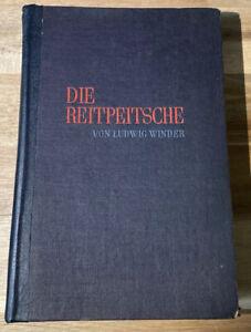 Ludwig-Winder-Die-Reitpeitsche-Erstausgabe