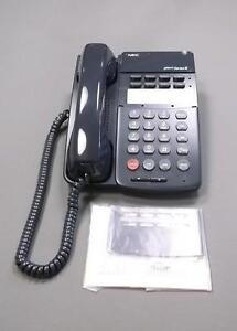 nec dterm series iii phone etj 8 2 black phone new office phone ebay rh ebay com nec dterm series 1 user guide nec dterm series i user guide