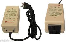 TRASFORMATORE CONVERTITORE 220V A 110V E 110 A 220V 100W per apparecchi da USA