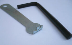 NOS Vintage Sugino chain ring wheel bolt nut peg wrench spanner 87A us