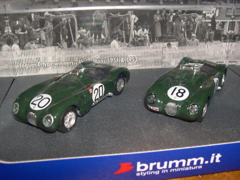 BRUMM 1 43 - COFFRET JAGUAR TYPE C - WINNER LE MANS AS30