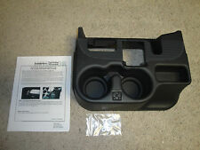 NEW 2003-12 DODGE RAM CENTER CONSOLE CUPHOLDER, BLACK, ADD-ON, 1500/2500/3500