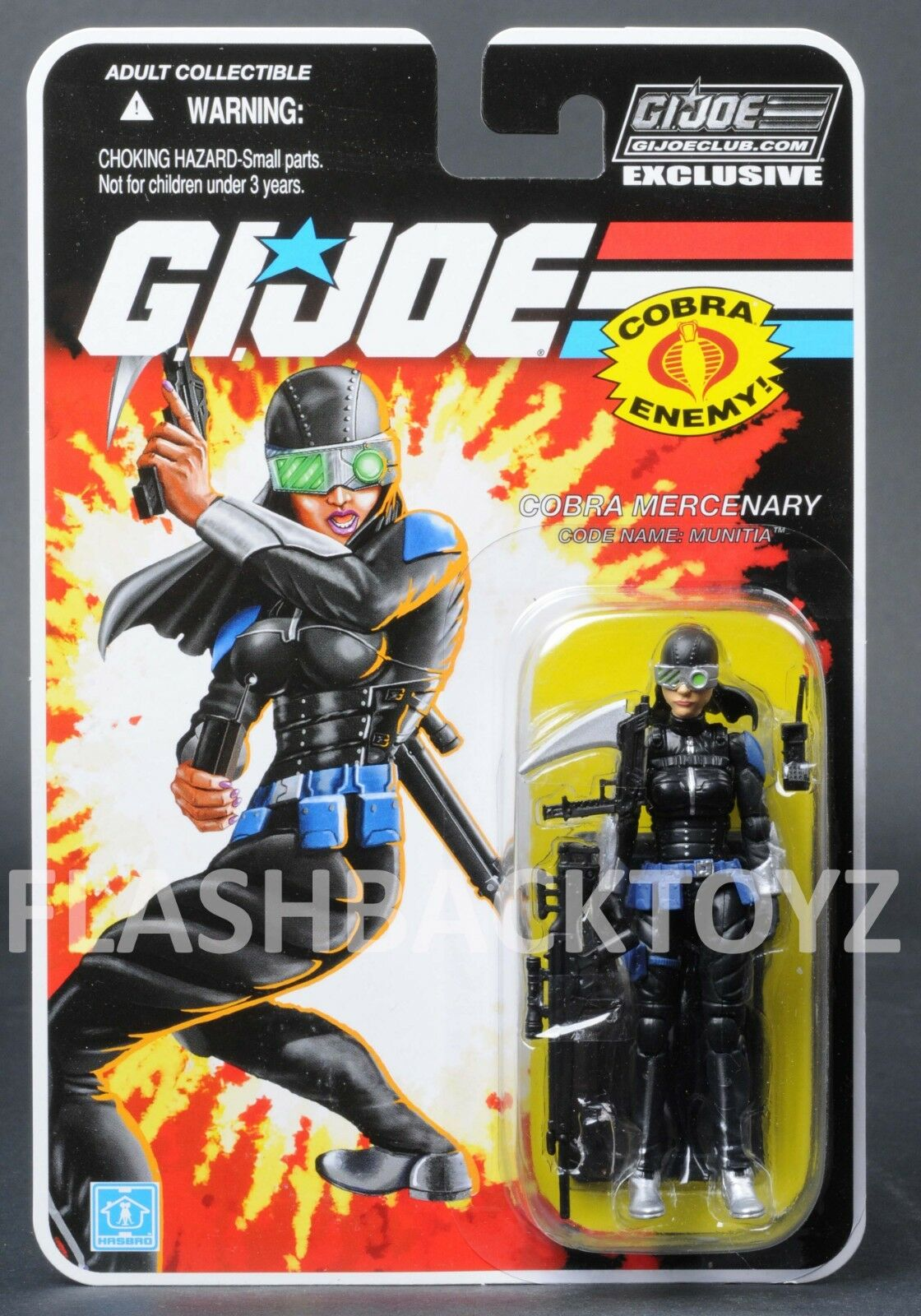 2018 GI Joe Cobra Mercenary Munitia Club Exclusive FSS 8.0 MOC