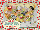 The Best Flea, Antique, Vintage & New-style Markets in America by Pamela Keech (Paperback, 2013)