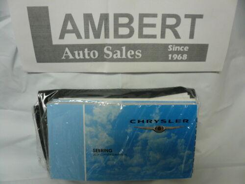 2009 Chrysler Sebring Owners Manual Set NEW Factory SEALED