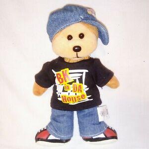 BEANIE-KIDS-Bling-The-Hip-Hop-bear-Bean-Bag-Toy-Doll