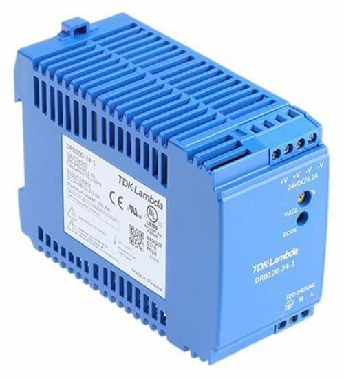 DRB DIN rail power supply, supply, supply, 100.8 W, 24 V DC/4.2 A 755aa6