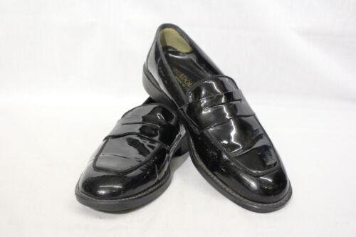 Loafer Itali Heren 8 Adolfo lakleer b86 schoenen handgemaakt 5m zwart Penny 4xxAwfSq
