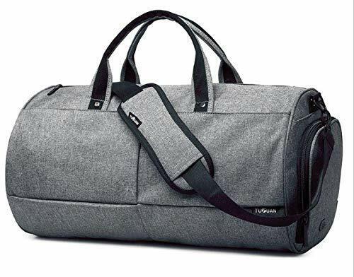 Tuoguan Mixed Duffle Bag For Unisex Grey Sport /& Outdoor Duffle Bags