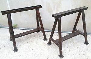 Cavalletti in ferro per tavoli   Decoupageitalia