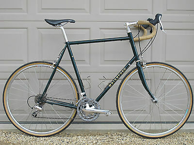 waterford st 22 sport touring bicycle 62cm lugged steel frame ultegra 3 x 10 spd