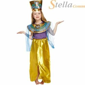Image is loading Girls-Queen-Of-The-Nile-Egyptian-Pharaoh-Cleopatra-  sc 1 st  eBay : cleopatra girls costume  - Germanpascual.Com
