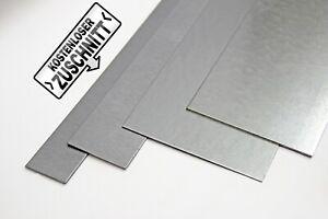 1,5 Mm Aluminium Acier Inoxydable Acier Bandes Dans Diverses Large 1000 Mm Long-afficher Le Titre D'origine Garantie 100%