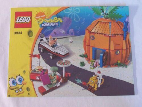 3834 Instruction Nr LEGO® Bauanleitung