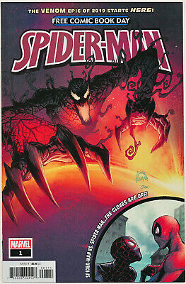 FCBD Spider-Man #1 Marvel 2019 Venom Absolute Carnage 9.6 Near Mint+