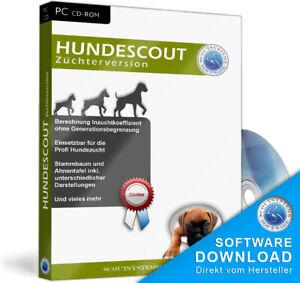 Hunde Zuchtprogramm,stammbaum,ausstellung,preise,kosten Hundezucht Software,edv Computers/tablets & Networking Software