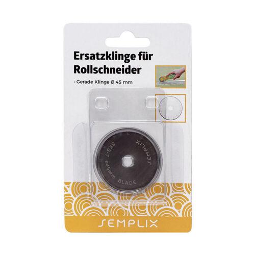 45 mm // 1 St. Semplix Ersatzklinge für Rollschneider gerade