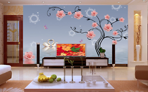 3D Swans Lake pinks 73 Wall Paper Murals Wall Print Wall Wallpaper Mural AU Kyra