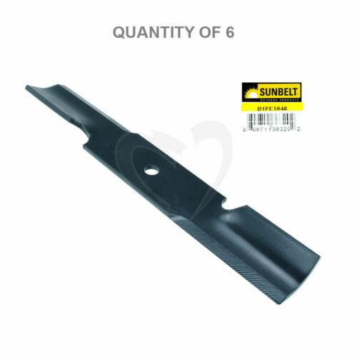 Sunbelt #B1FE1048 16-1//4 Replacement Mower Blade for Ferris//Toro 6-Pack