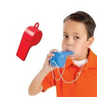 Red Or Blue Giant Whistle Speech Therapy Sports Event Oral Motor Skills
