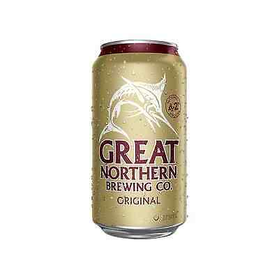 Great Northern Brewing Company Original Lager Cans 30 Block 375mL case of 30