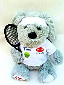 Plush-Think-Sofas-Grey-Dog-Puppy-Tennis-Promotional-Soft-Stuffed-Animal-Toy-19CM