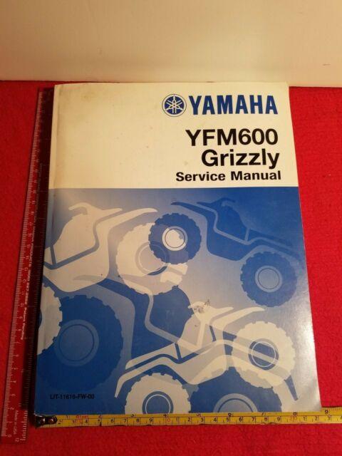 Yamaha Yfm600 Grizzly Factory Service Manual Lit