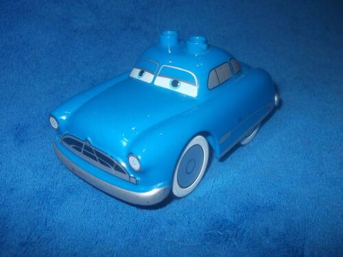 LEGO DUPLO CARS DOC HUDSON aus 5815 Flos Cafe Rarität OLDTIMER BLAU FAHRZEUG RAR