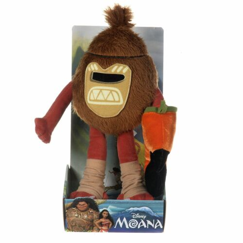 "Nouveau Officiel 8/"" 10/"" 20/"" Disney Moana Plush Soft Toys Toddler Maui Pua kakamora"