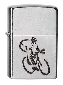 ZIPPO-cycliste-velo-de-course-SATIN-CHROME-AVEC-OU-SANS-ENSEMBLE-CADEAU-2004215