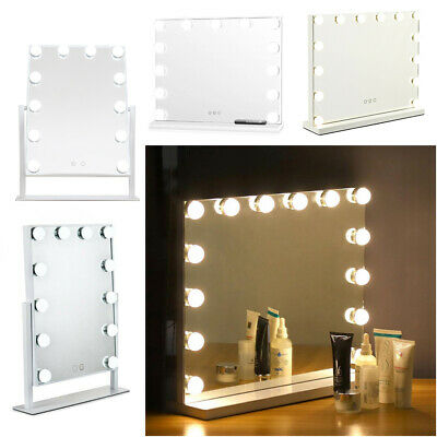 Hollywood Vanity Mirror With 12 13 Led, Vanity Bulb Mirror