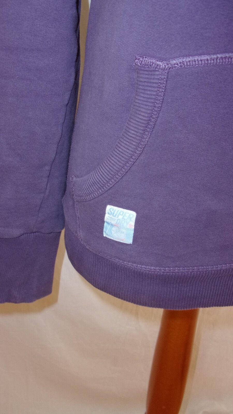 Sweat Superdry purple size size size S à - 48% 2bcc7b