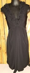 Maggy-london-womens-size-6-black-sleeveless-knee-length-dress-stretch