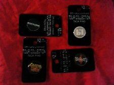 Lot of 8 Hat Tie or Lapel Pins LP Green Day Slipknot Eminem