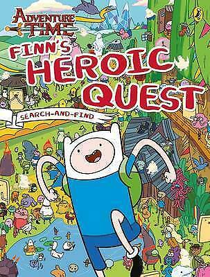 Adventure Time: Finn's Heroic Quest Search-and-Find-ExLibrary