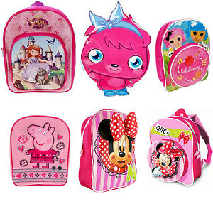 Kids-Character-School-Backpack-Rucksack-Bag-New-Design