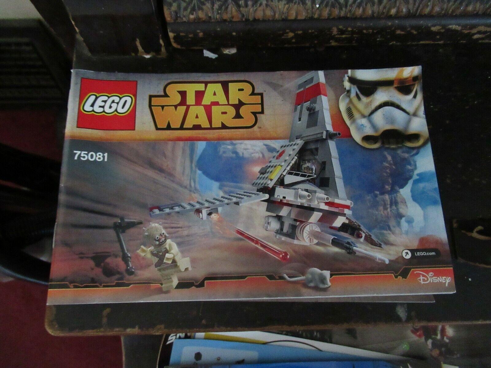 """NIB ! LEGO Star Wars set #75081 /""""T-16 Skyhopper/"""" 2015"""